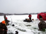 K&E Tackle Bum Lake ice fishing get together 02062011-059