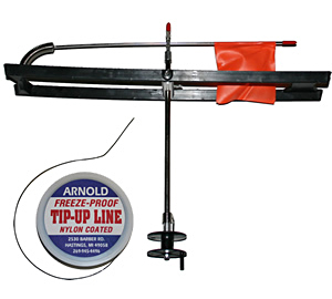 Bear Creek tip-up and Arnold tip-up line