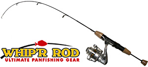 Whip'r rod and reel panfishing gear