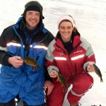 Ray Tiffany and Mandolyn MacHaffie, the HARD WATER MANIACS team up with K&E Stopper Lures