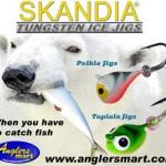 Anglers Mart Skandia Tungsten Ice Jigs - Pelkie and Tapiola