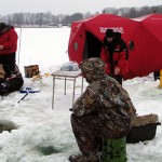 The 2012 Ultimate Fishing Show adds a large ice fishing gear compliment and ice fishing seminars