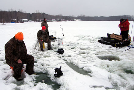 The 2012 Ultimate Fishing Show Detroit adds a big ice fishing gear presence and new ice fishing seminars
