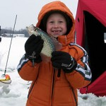 Big panfish are the target for the competitors in the first ever Ultimate Ice Fishing Tournament