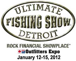 Ultimate Fishing Show Detroit 2012 features the Ultimate Ice Fishing Tournament live weigh-in