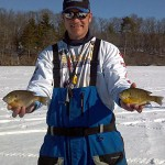 K&E Stopper pro staff member Ray Tiffany takes 5th place in Wisconsin ice fishing to qualify for the 2012 USA Ice Team