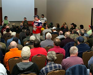 75 free seminars including ice fishing experts lined up so far for the 2013 Ultimate Fishing Show