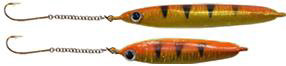 K&E Stopper Lures Smelt Sticks feature a BRIGHT GLOW finish on the back side