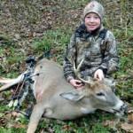 Team Stopper Pro Staff member Sam Gernaat with his first deer