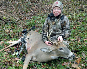 Team Stopper Pro Staff member Sam Gernaat with his first deer