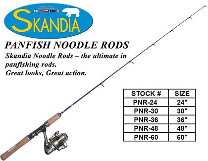 Skandia Noodle Rods chart