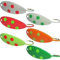 K & E Tackle Oscoda Russian Spoon colors