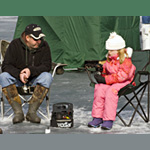 Michigan Free Fishing Weekend Winter 2014