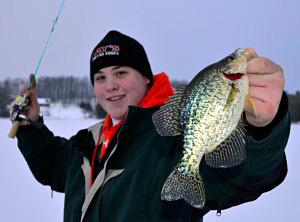 Charter Captain Jake Romanack will cover panfish through the ice during the 2015 Ultimate Fishing Show Detroit in Novi, Michigan