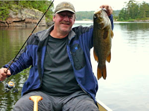 Ramsey Dowgiallo has been fishing through the Boundary Waters Canoe Area for almost twenty years.