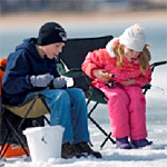 Michigan Free Fishing Weekend February 14-15