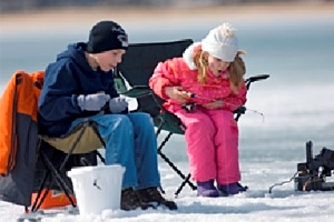 Michigan DNR Free Fishing weekend is February 14-15, 2015
