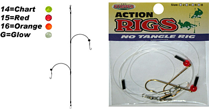 K&E Tackle No Tangle Rig