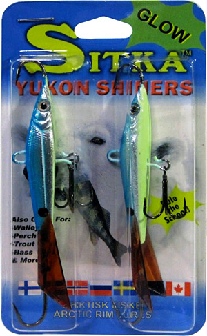 Yukon Shiner minnow package