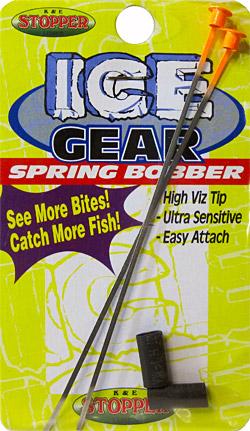 Flat steel spring bobber sbf-2-2pk