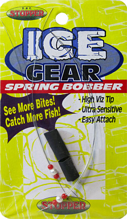 Hair wire spring bobber sbh-1-2pk
