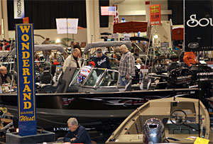 Wonderland Marine and many other boat dealers will be on hand at Outdoorama 2017.